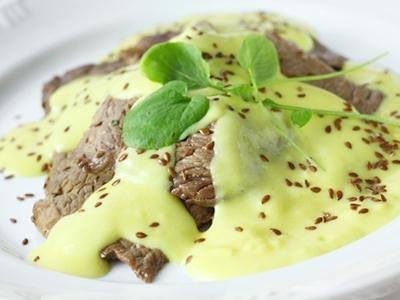 Receita de Bife de contra filé ao molho de mostarda