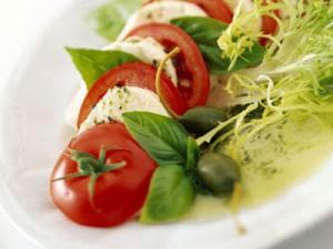 Receita de Salada Caprese