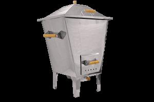 Churrasqueira a Bafo em Aço Inox