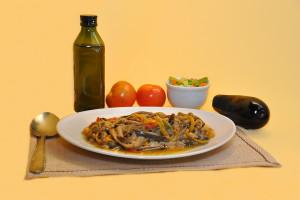 Salada Berinjela em Conserva
