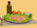 Salada de Molho à Vinagrete